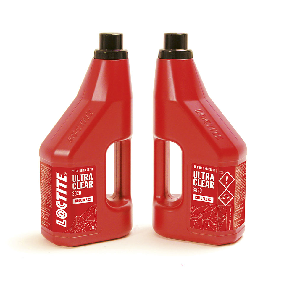 Loctite 3DP 3820 Ultraclear Resin