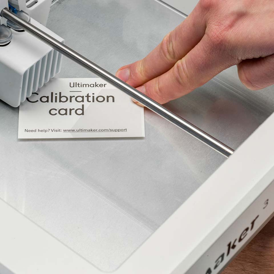 Ultimaker Calibration card
