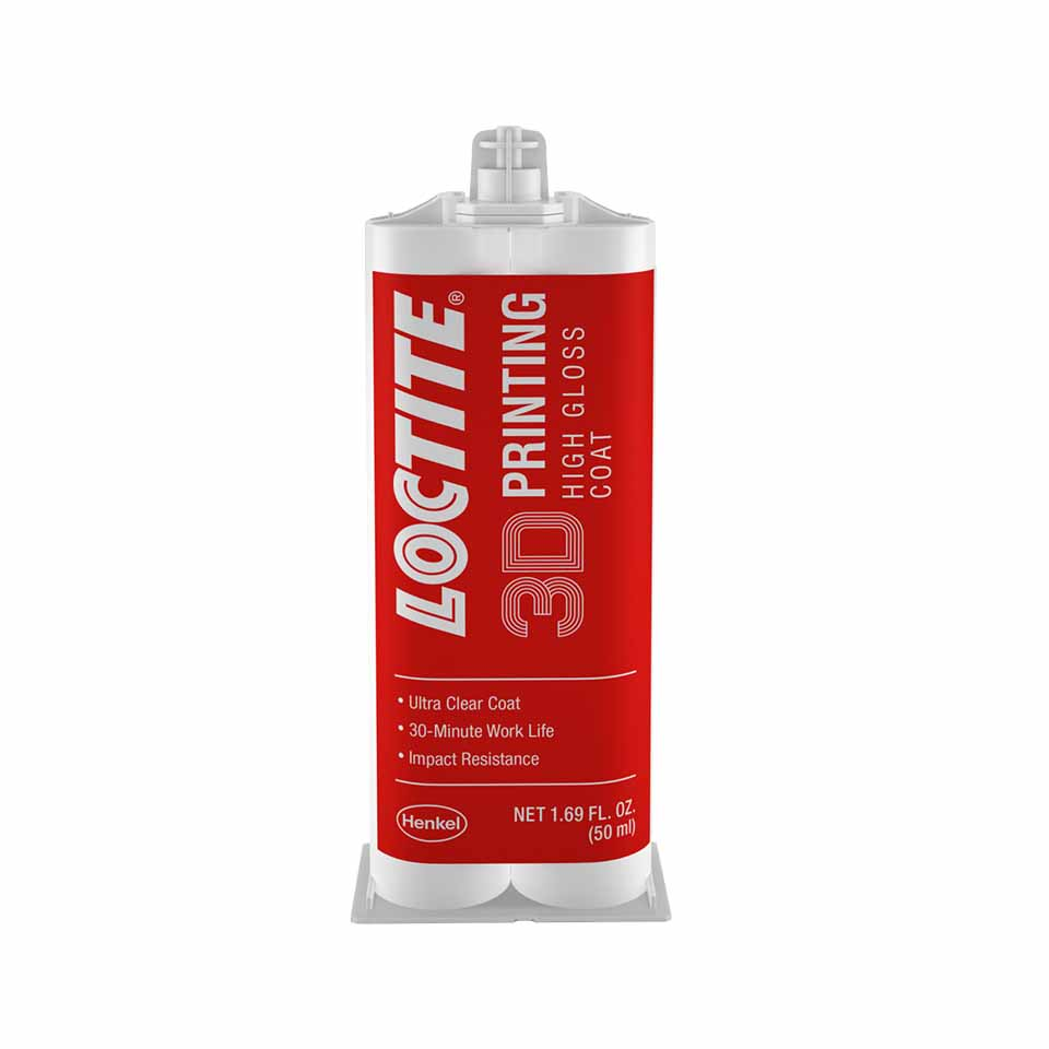 Loctite 3D Printing High Gloss Coat