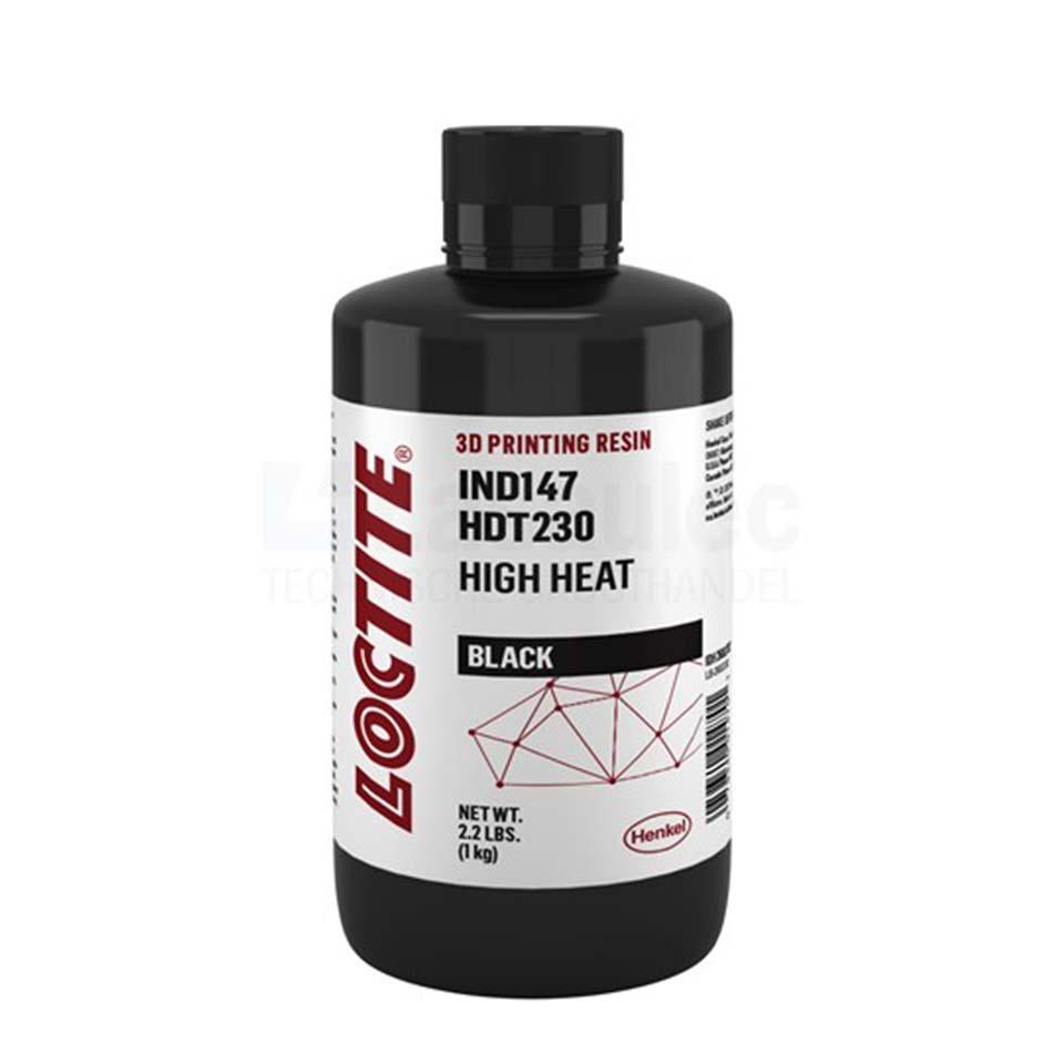 LOCTITE 3D IND147 HDT230 High Heat Black